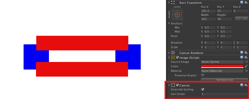 how to change canvas size in unity